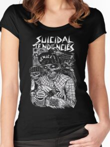 Suicidal Tendencies Women's Fitted Scoop T-Shirt