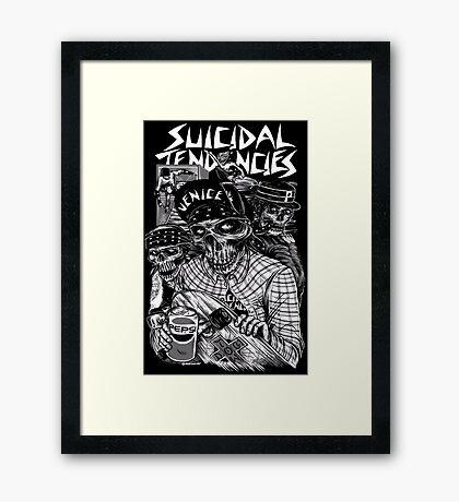 Suicidal Tendencies Framed Print