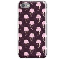 Pink Jellyfish Pattern iPhone Case/Skin