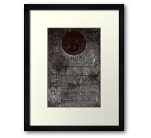 Dark Brotherhood's 5 Tenets Framed Print