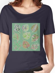 Leafy Green Women's Relaxed Fit T-Shirt