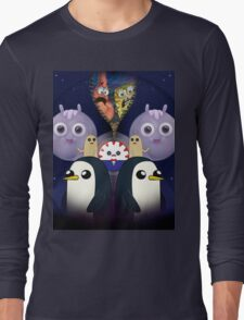 Spongebob Find's Adventure Time Long Sleeve T-Shirt