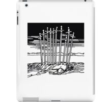 THE TEN OF SWORDS iPad Case/Skin
