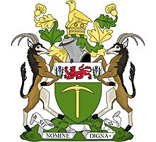 Rhodesian Coat of Arms Photographic Print