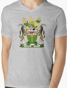 Rhodesian Coat of Arms Mens V-Neck T-Shirt
