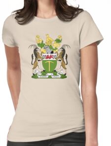 Rhodesian Coat of Arms Womens Fitted T-Shirt