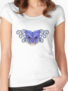 Water demon -white- Women's Fitted Scoop T-Shirt