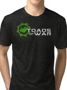 Toads of War Ver. 2 Tri-blend T-Shirt
