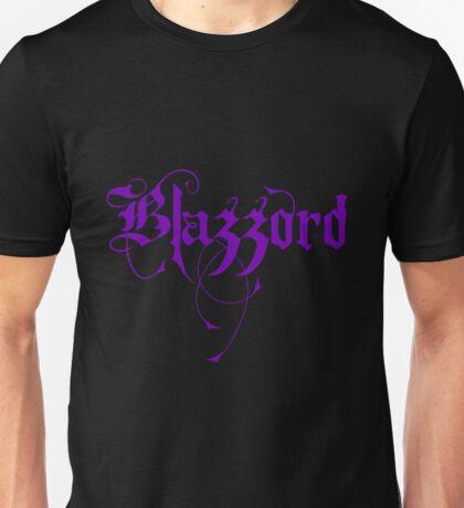 Blazzord - Purple Logo Unisex T-Shirt