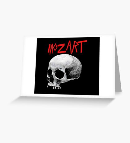 mozart Greeting Card