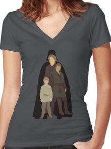 """Maybe Vader someday later"" Women's Fitted V-Neck T-Shirt"