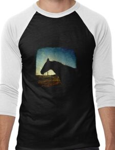Urban Cowboy - TTV Men's Baseball ¾ T-Shirt