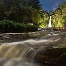 First Waterfall in Moonlight by pablosvista2