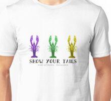 Mardi Gras Tails Unisex T-Shirt