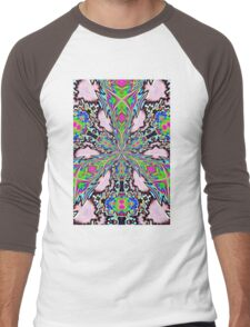 psychedelic radiance Men's Baseball ¾ T-Shirt