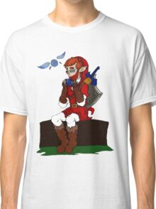 Anyone Can Be A Hero - Legend Of Zelda Inspired Classic T-Shirt