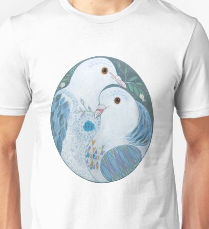Two Doves Unisex T-Shirt