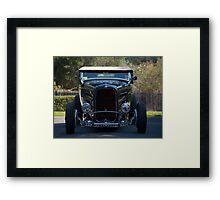 Ford Hot Rod V8 Framed Print