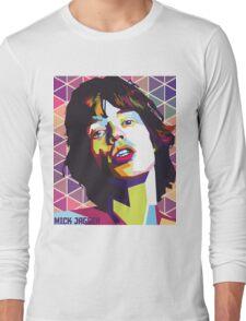 mc jagger 1 Long Sleeve T-Shirt