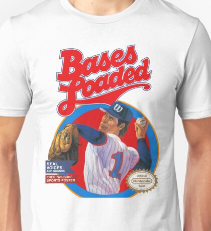 Bases Loaded - NES Box Art Unisex T-Shirt