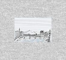 Firenze Italy a bridge over the Arno * Unisex T-Shirt