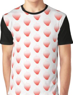 Gradient Strawberry Graphic T-Shirt