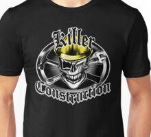 Construction Skull sp yellow 6: Killer Construction Unisex T-Shirt