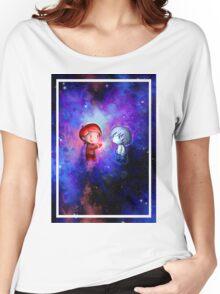 Galaxy Heart Women's Relaxed Fit T-Shirt