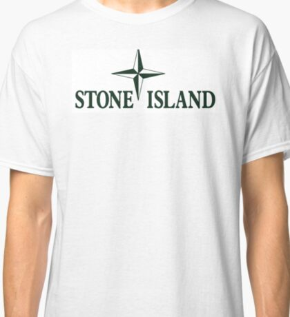 Stone Island Logo Merchandise Classic T-Shirt