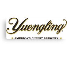 yuengling - Americas Oldest Brewery Canvas Print