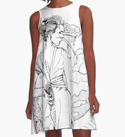 Mother Nature (Stickers/Dress) A-Line Dress