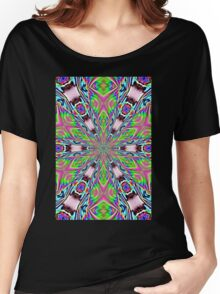 psychedelic radiance totem Women's Relaxed Fit T-Shirt