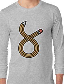 Pencil Long Sleeve T-Shirt