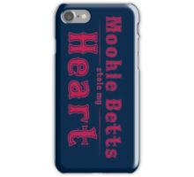 Mookie Betts stole my Heart iPhone Case/Skin