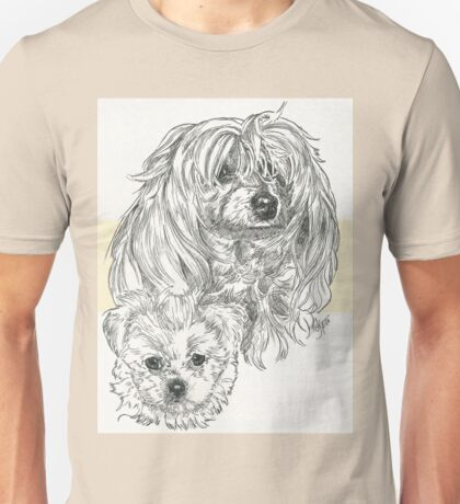 MaltiPoo Father & Son Unisex T-Shirt