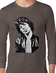 mc jagger 2 Long Sleeve T-Shirt