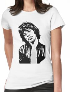 mc jagger 2 Womens Fitted T-Shirt
