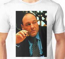 James Gandolfini as Tony Soprano Unisex T-Shirt