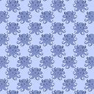 Purple Spotted Octopus Pattern by SaradaBoru