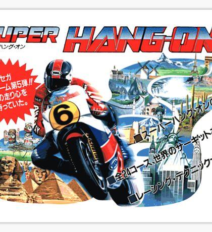 Super Hang-On (Japanese Art) Sticker