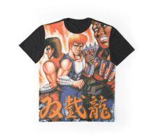Double Dragon (Japanese Art) Graphic T-Shirt