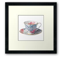 Tea Cup 1/x Framed Print