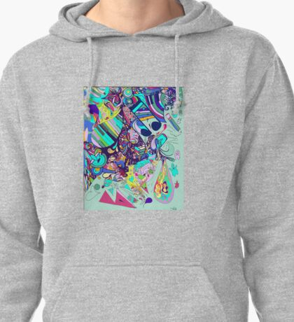 Abstract Loves Pullover Hoodie