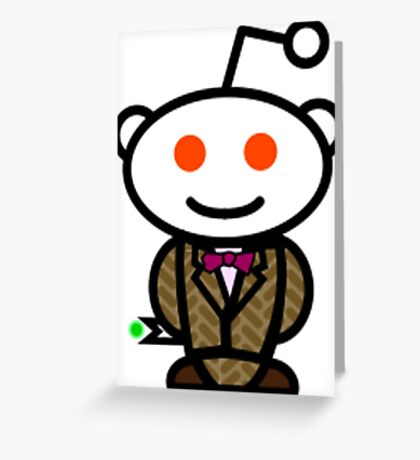 Reddit Dr. Who Greeting Card