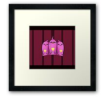 [This Time I Might Just Disappear] Framed Print