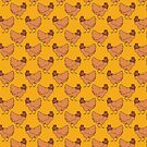 Ginger Chicken Pattern by SaradaBoru