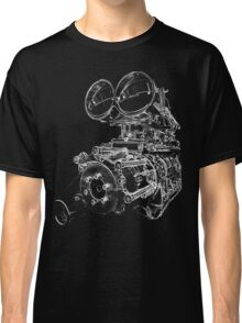 """Shottie"" - Supercharged V8 Engine Classic T-Shirt"