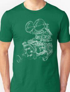 """""""Shottie"""" - Supercharged V8 Engine Unisex T-Shirt"""