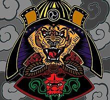 Tiger the Samurai by declantransam
