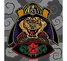 Tiger the Samurai Photographic Print